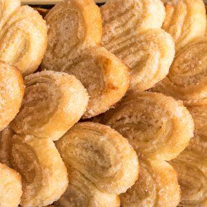 palmeritas sin gluten y sin lactosa