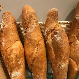 Barra de pan rústica