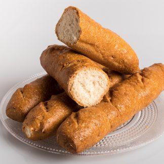 Barra de pan sin gluten y sin lactosa
