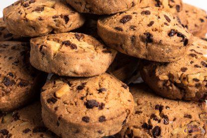 cookies con chocolate sin gluten y sin lactosa