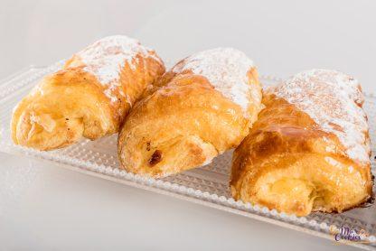 Napolitana crema sin gluten y sin lactosa