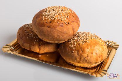 pan de hamburguesa sin gluten y sin lactosa