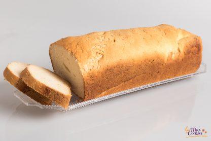 pan de molde sin gluten y sin lactosa
