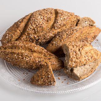 pan multicereales sin gluten y sin lactosa
