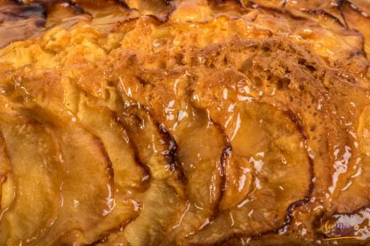 bizcocho con manzana sin gluten y sin lactosa