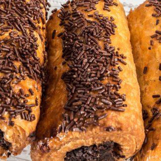Napolitana de chocolate