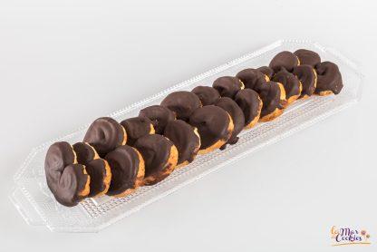 palmeritas chocolate sin gluten y sin lactosa